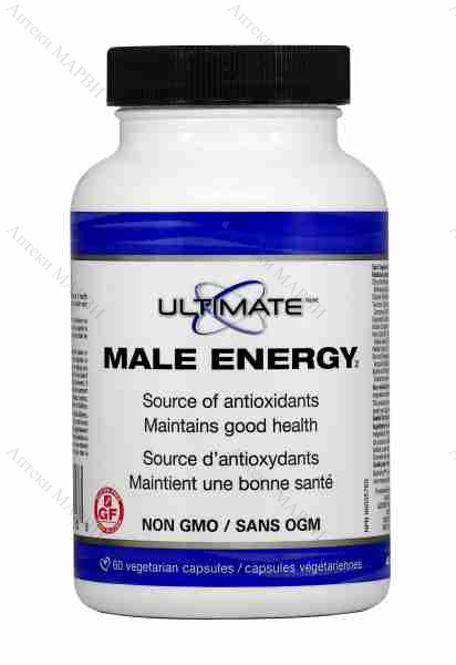 Natural Factors Ultimate, Male Energy - за мъжкото здраве, 60 V-капс.