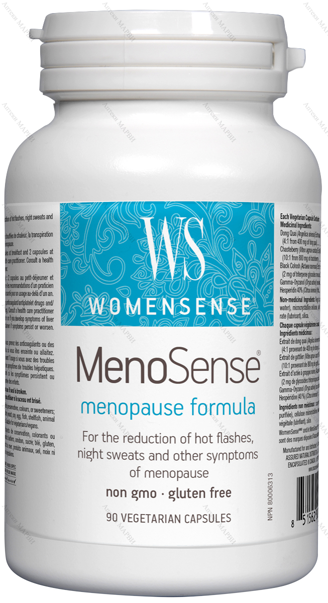 Preferred Nutrition, MenoSense (Менопауза Формула), 410 мг., 90 V-капс.