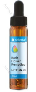 Bioherba Bach Flower Remedies, Капки на Бах - ФОБИИ / ФИКС ИДЕИ, 20 мл.