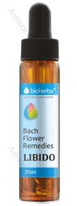 Bioherba Bach Flower Remedies, Капки на Бах - ЛИБИДО, 20 мл.