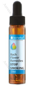 Bioherba Bach Flower Remedies, Капки на Бах - STOP TЮТЮНОПУШЕНЕ, 20 мл.