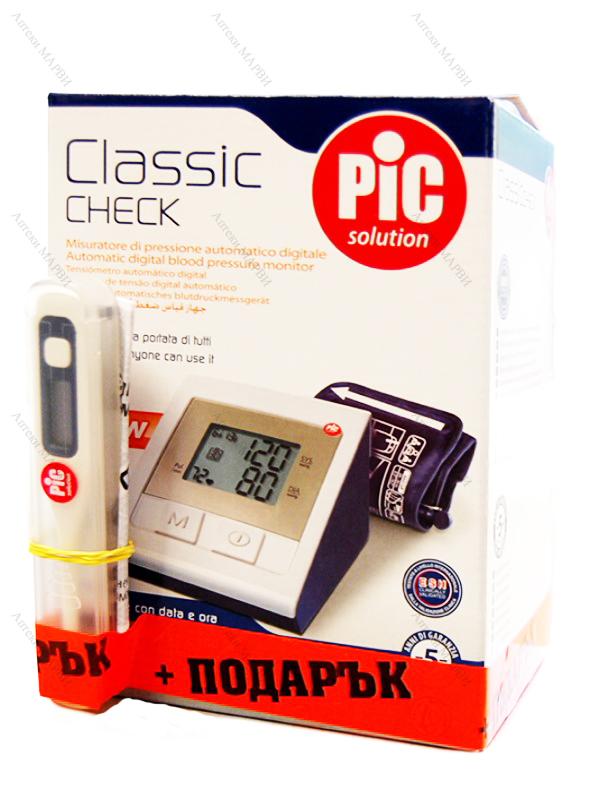 ПРОМОПАКЕТ PiC CLASSIC Check, Автоматичен апарат за кръвно..