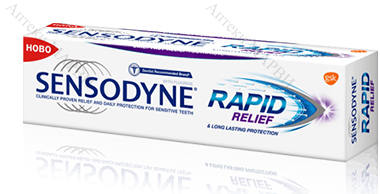 SENSODYNE Rapid Relief / Сенсодин, Паста за зъби, 75 мл.