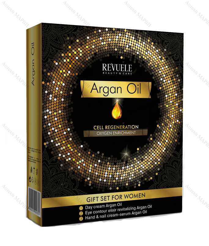 Revuele ARGAN OIL, Комплект